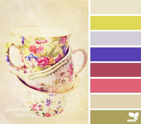 Design-Seeds Teacup Vintage