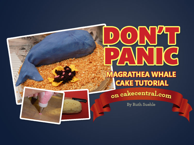 Hitchhiker S Guide To The Galaxy Magrathea Cake Tutorial