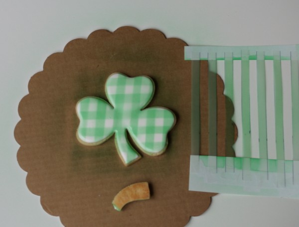 shamrock cookie tutorial