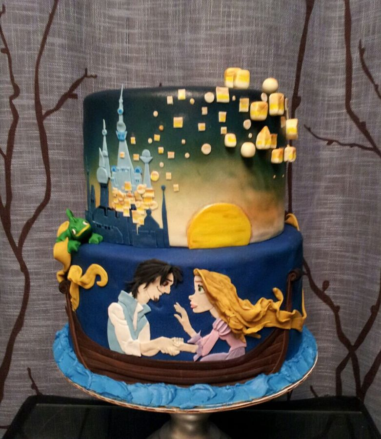 Top Tangled Cakes Photo Gallery Cakecentral
