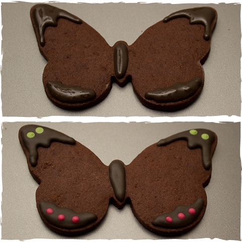 Butterfly Cookies Step 1