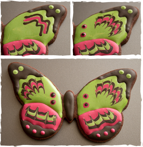 Butterfly Cookies Step 3