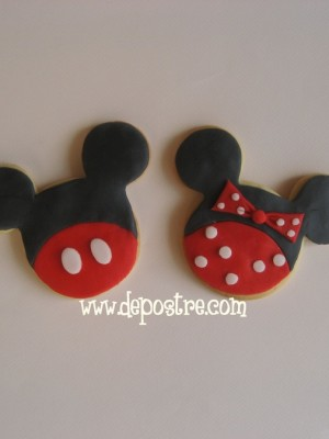 mickey and minie mouse