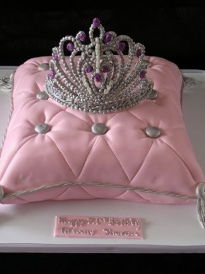 Princess pillow cake