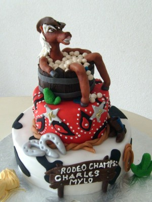 Rodeo cake