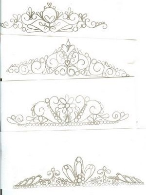 Tiara Patterns to use if you want to.