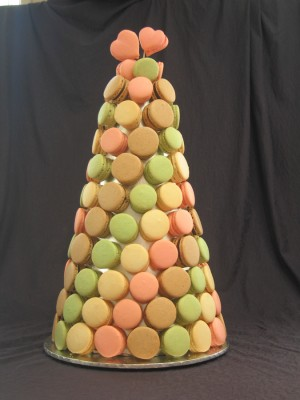 French Macaron Wedding Tower