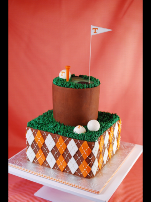 Golf and TN groom's cake