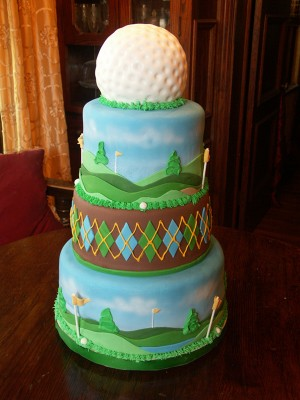 Golf Tournament Cake