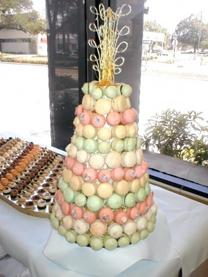 Typical European Croquembouche