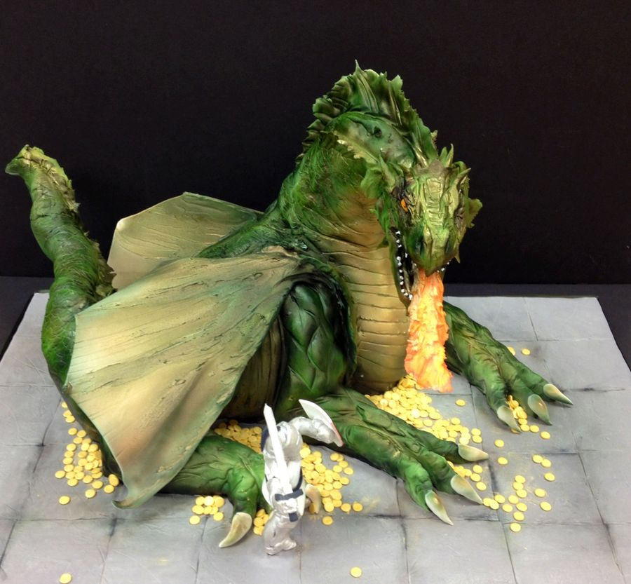 Top Sculpted Dragon Cakes Part II CakeCentralcom