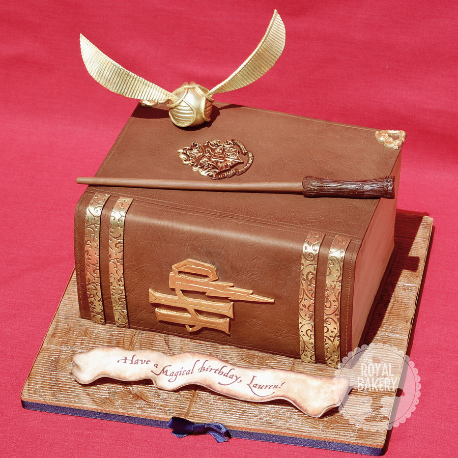 Cake Harry Potter Book : Friday Faves: Harry Potter, Deep Sea Decor and a Mini Tea ...