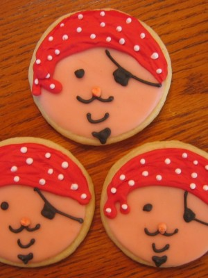 Pirate Cookie Favors