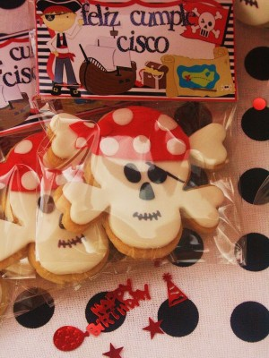 Pirate Decorated Cookies