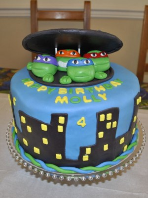 Teenage Mutant Ninja Turtle (TMNT) Cake