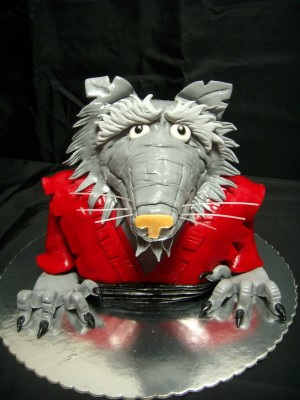 TMNT MASTER SPLINTER CAKE