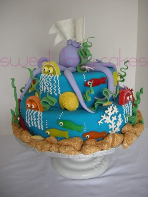 """Under the Sea"" Cake"