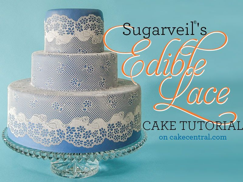 Sugarveil 174 Lace Tutorial Cakecentral Com