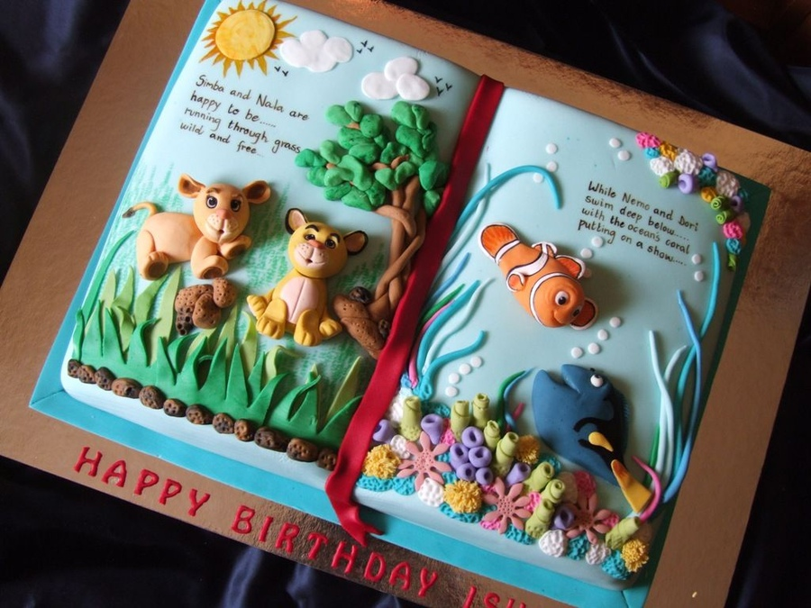Top Book Cakes - CakeCentral.com