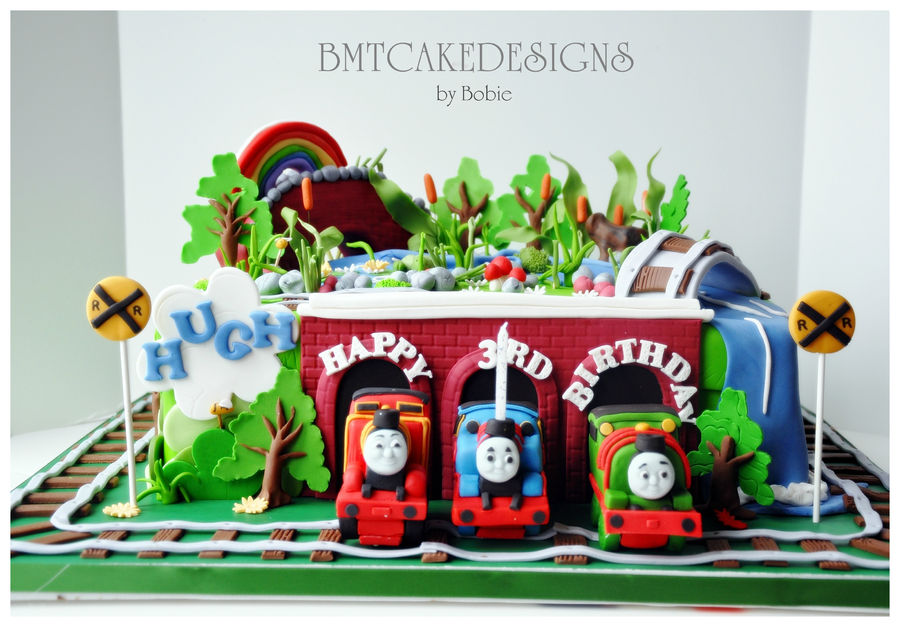 Thomas, Percy, James Train for Hugh