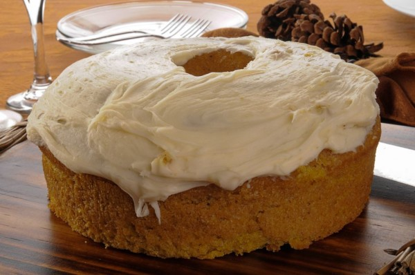 Pumpkin Buttermilk Cake and Cream Cheese Frosting Recipes