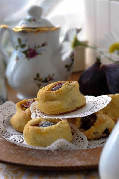 Cardamom Fig Pastries