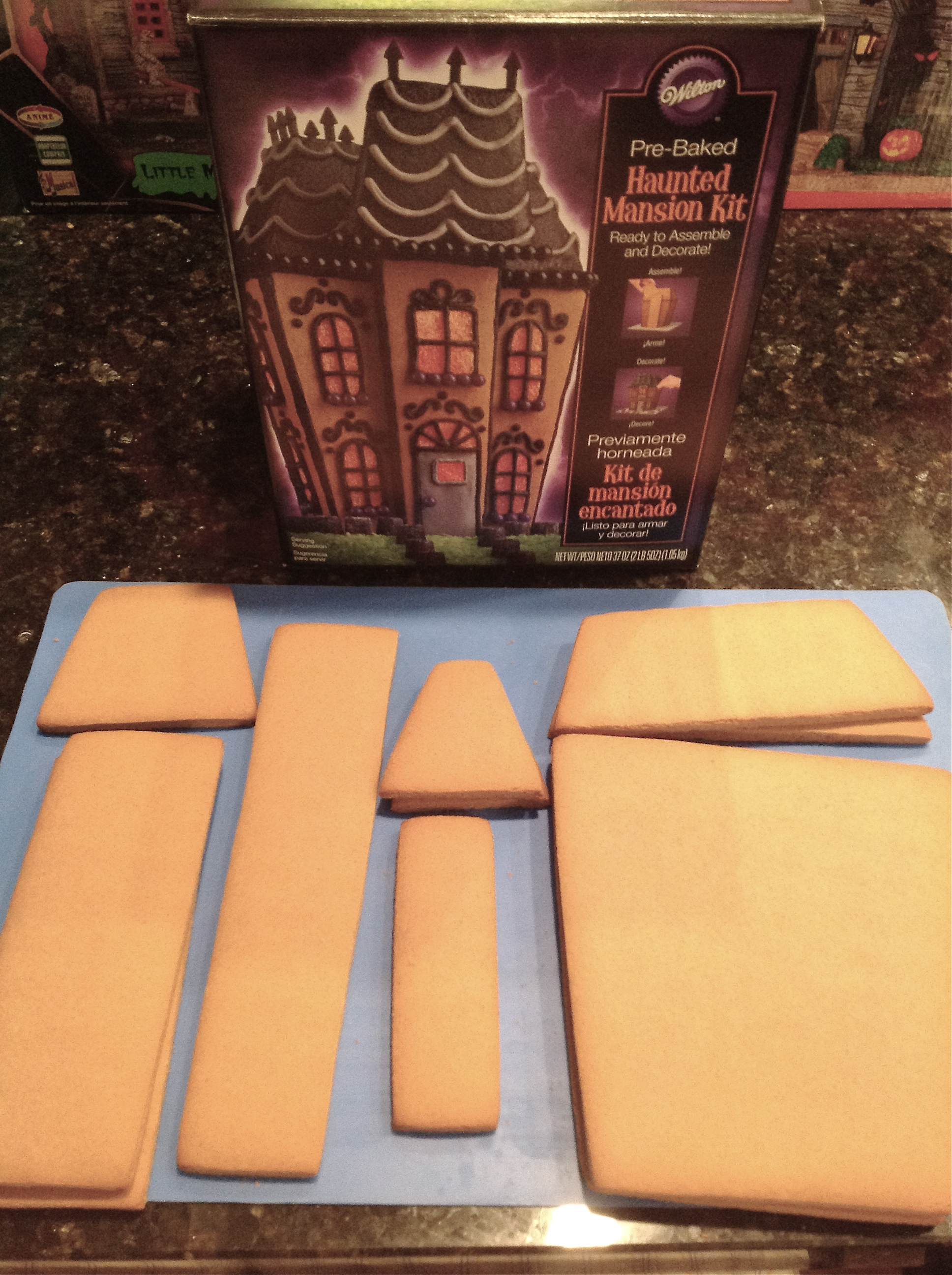 Spooky Gingerbread Mansion Tutorial Cakecentral Com