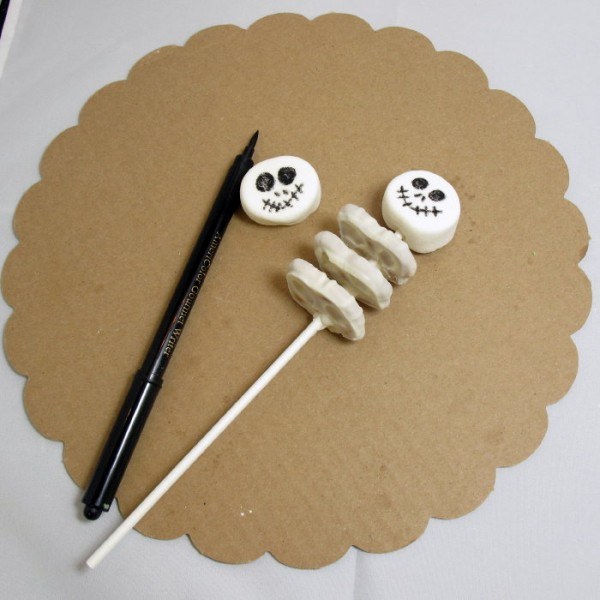 skeleton cake cupcakes halloween