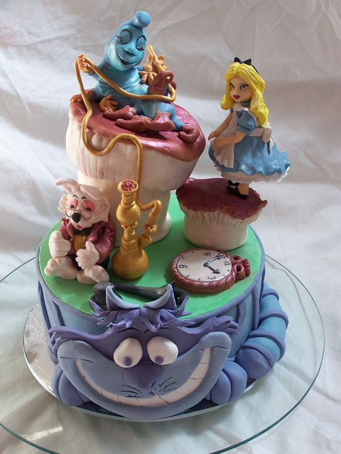 Top Alice in Wonderland Cakes