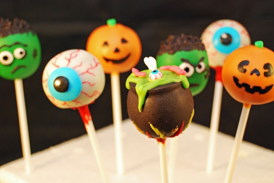 Halloween Cake Pop Decorating Ideas Halloween Cake Pops