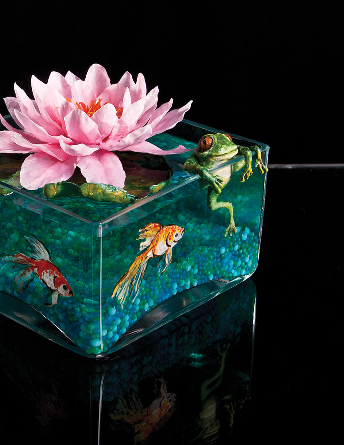 Lotus Flower Floating Centerpiece