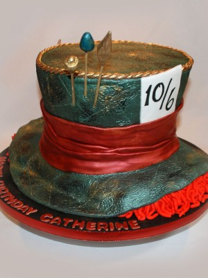 Mad Hatter Cake from Alice in Wonderland
