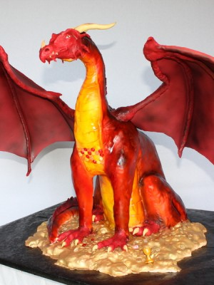 Smaug, from the Hobbit