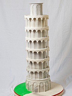 The (not-so) Leaning Tower of Pisa!