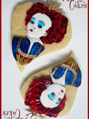 Tim Butons~ The queen of Hearts