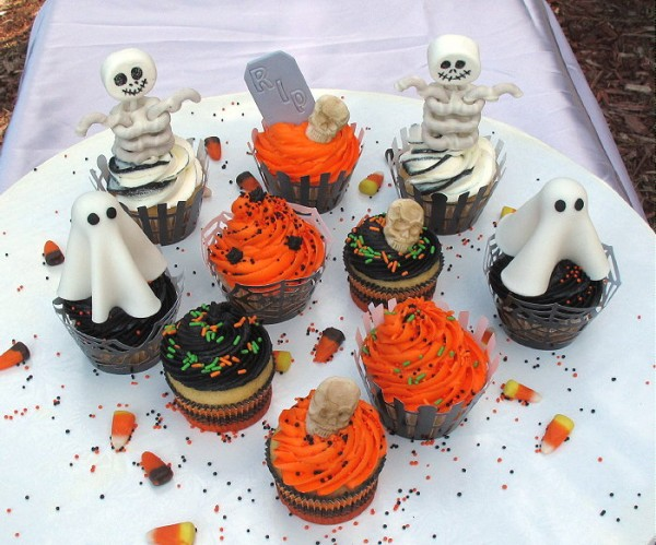easy halloween cupcake decorations