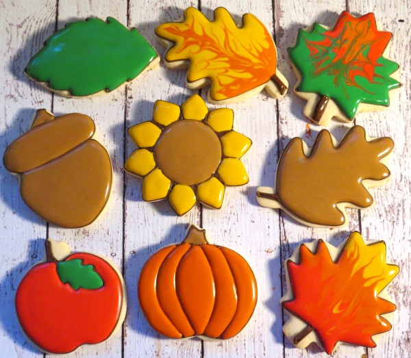 Ali's Sweet Tooth GoBo Fall Cookie Tutorial R