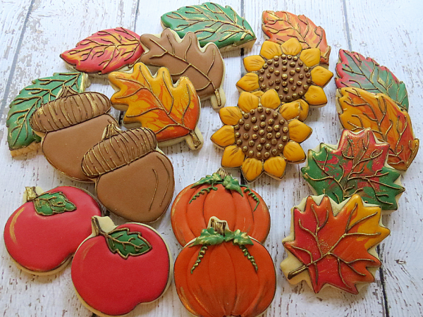 Autumn Cookie Tutorials Cakecentral Com