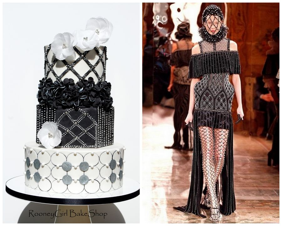 Alexander McQueen Wedding Cake