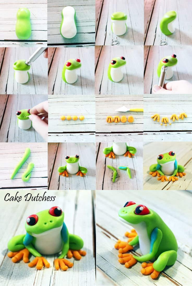 How To Make A Fondant Frog Cake