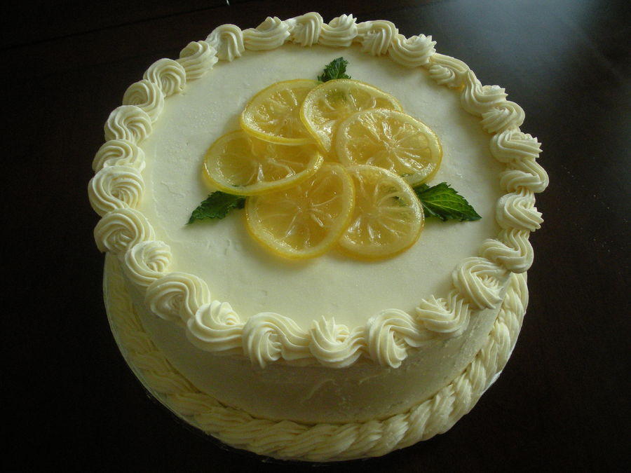 lemon cake by coleslawcat lemon cake with lemon curd filling and ...