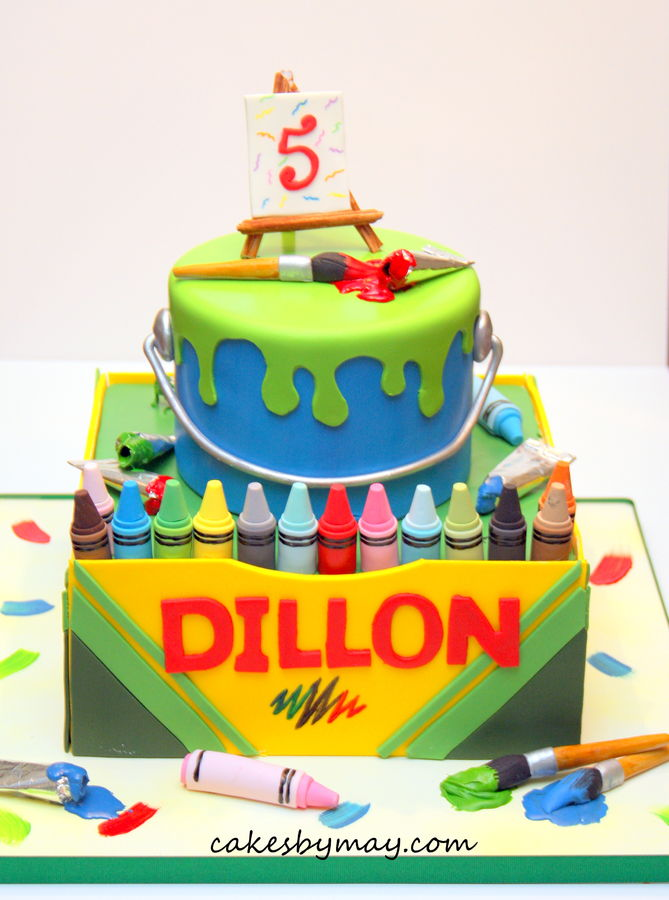 Top Crayon Cakes - CakeCentral.com