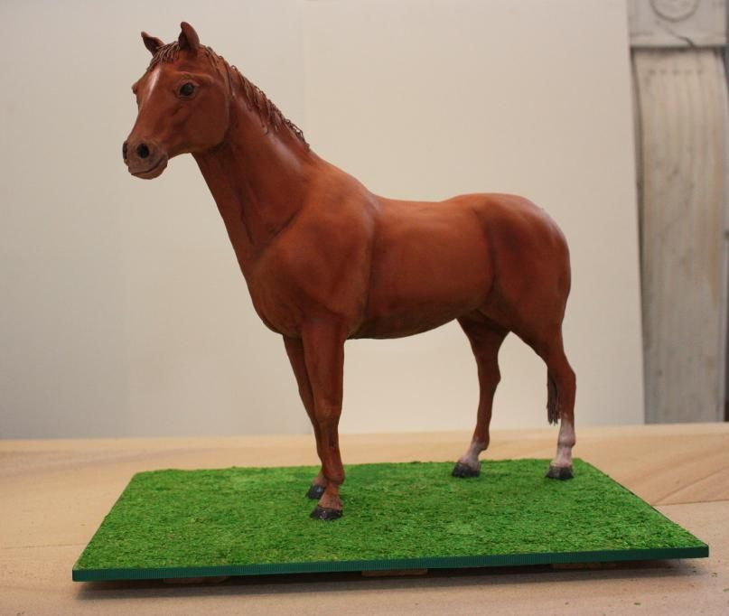 Standing horse cake