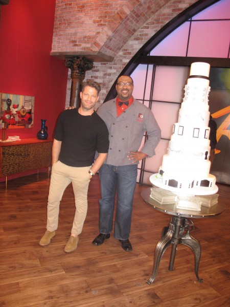 Nate with Dana on Rachael Ray