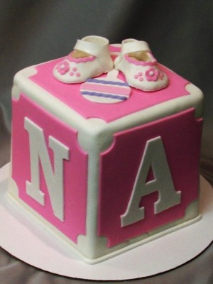 Baby Block Cake Images : Top Baby Blocks Cakes