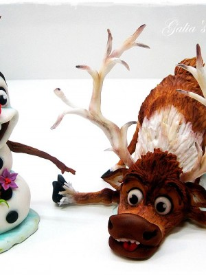 Olaf and Sven by Frozen