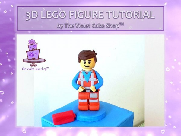 3D Lego Figure Tutorial - 1