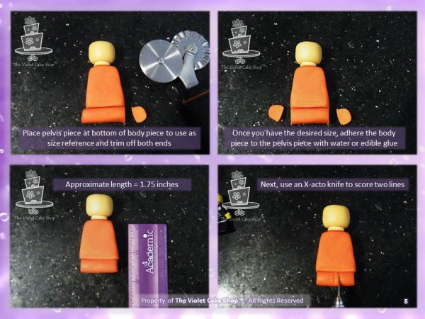 3D Lego Figure Tutorial - 8