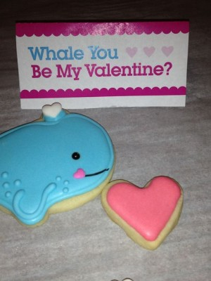 Whale Valentines
