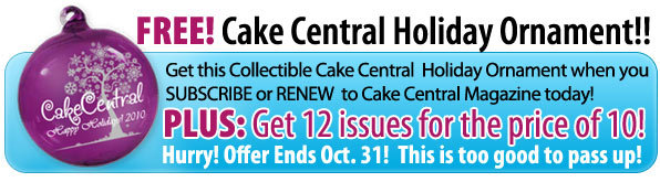 Cake Central Magazine Special Offer!